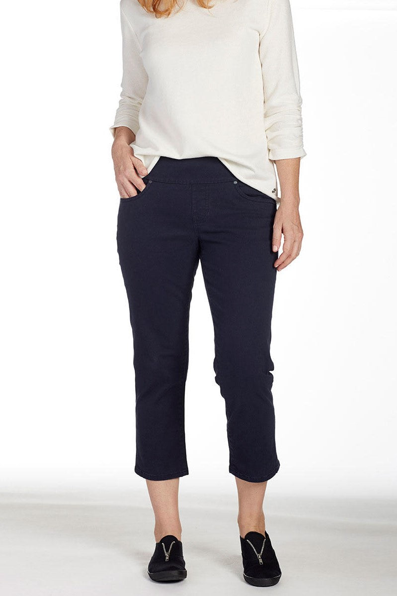JAG Jeans Peri Straight Crop - Navy