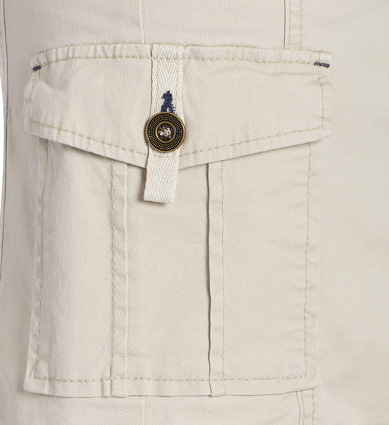 JAG Jeans Boardwalk Button Front Skirt in Bay Twill