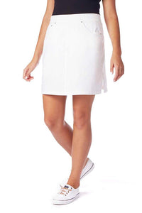 ON THE GO POPLIN SKORT