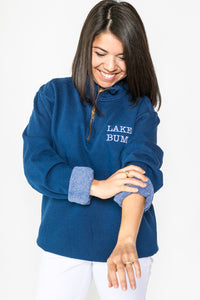 Comfort Colors LAKE BUM 3/4 Zip Sweatshirt