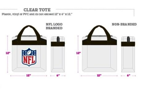 Bud Light Stadium Approved Clear Tote
