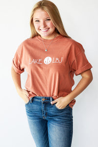 Comfort Colors LAKE LBJ SHORT SLEEVE