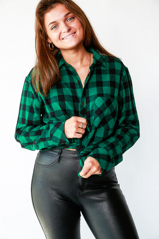 ESSENTIAL FLANNEL BUTTONDOWN