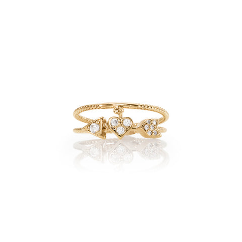 Chloe + Isabel Petits Bijoux Be Mine Ring Set
