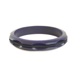 Sport Hair Tie Bangle Dark Purple