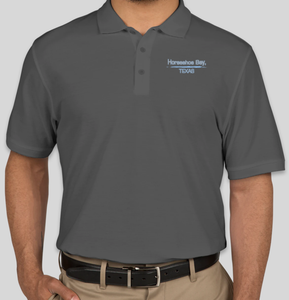 Horseshoe Bay, Texas Men's Golf Shirt
