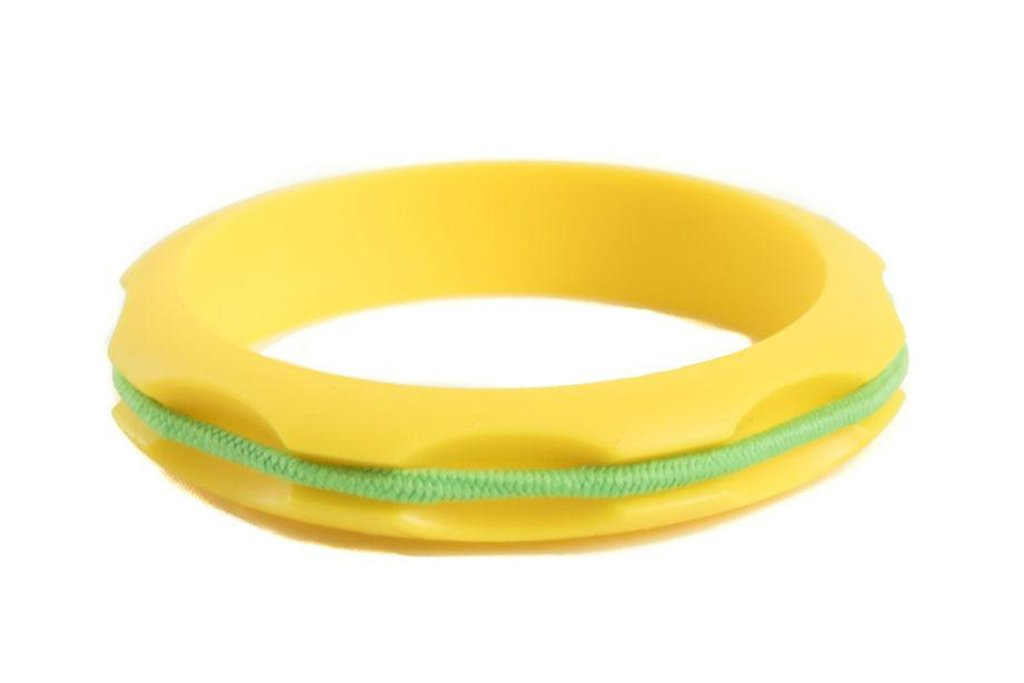 Miniz Hair Tie Bangle Kids - Buttercup Yellow