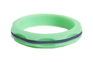 Miniz Hair Tie Bangle Kids - Mint Green