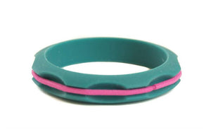 Miniz Hair Tie Bangle Kids - Teal