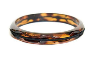 Hair Tie Bangle Plastic Tortoise