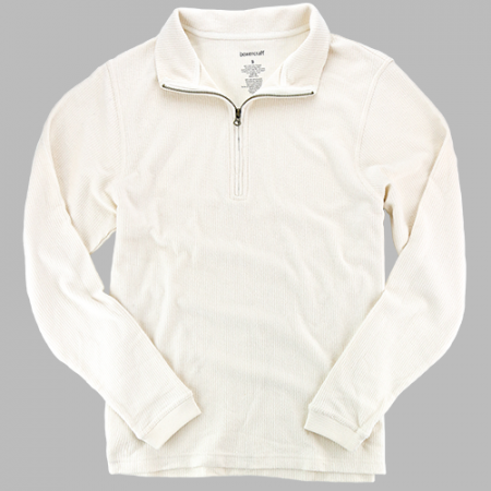 ADULT RALLY CORDUROY QUARTER ZIP PULLOVER
