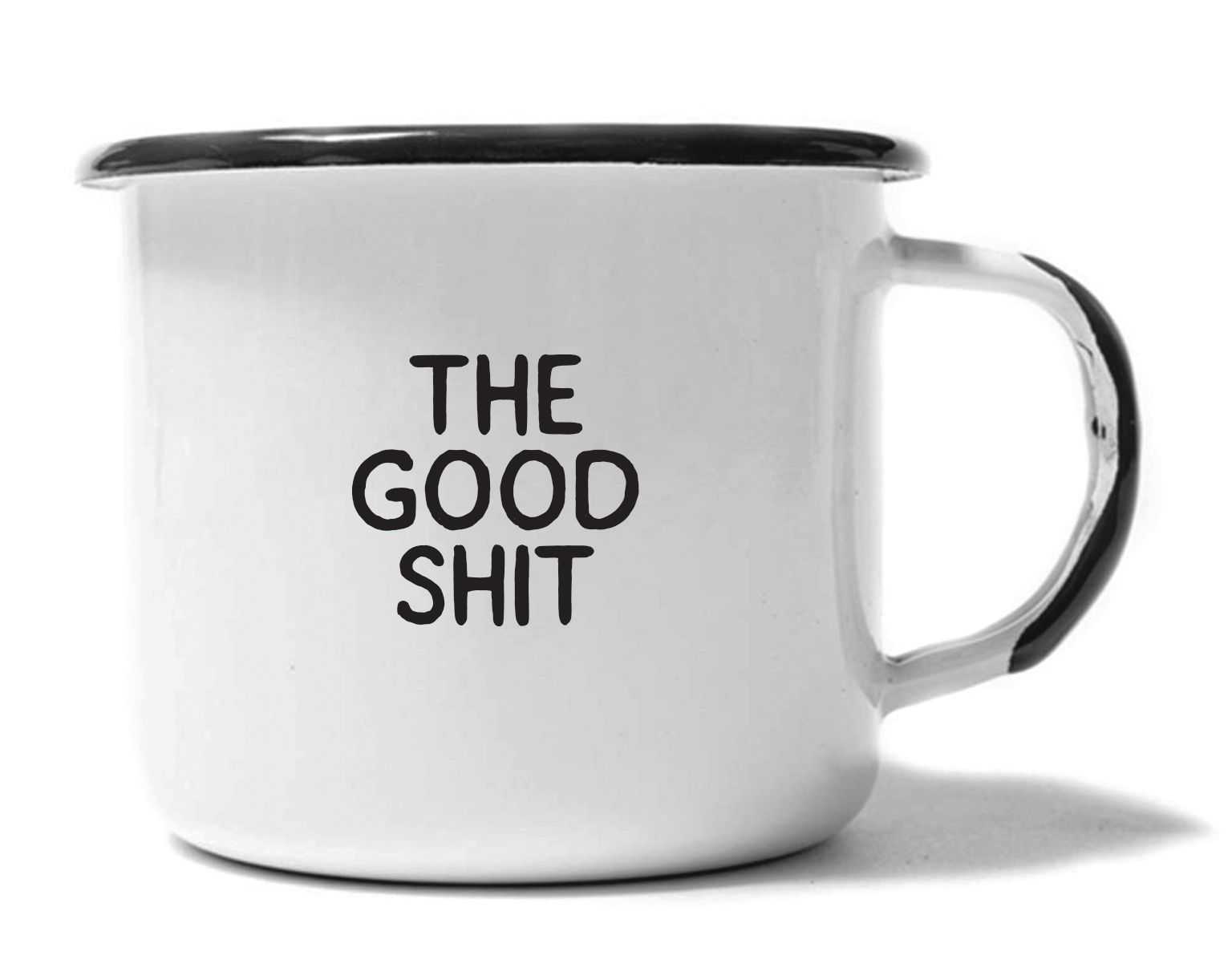 THE GOOD SHIT - ENAMEL CAMPFIRE MUG