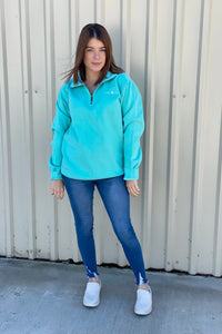 Comfort Colors LAKE LBJ 3/4 Zip Sweatshirt