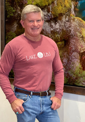 Comfort Colors LAKE LBJ LONG SLEEVE