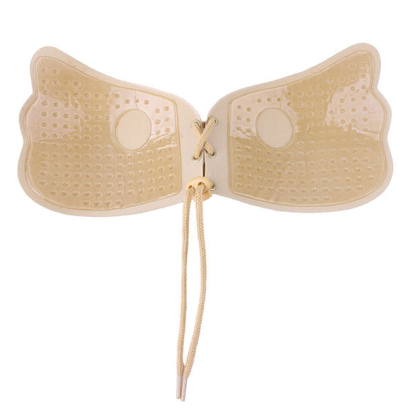 Wing Style Push Up Bra (Nude)