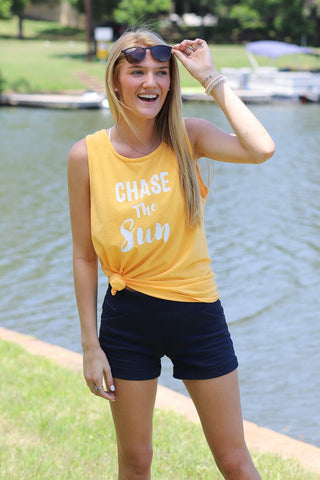 Comfort Colors CHASE THE SUN Tank