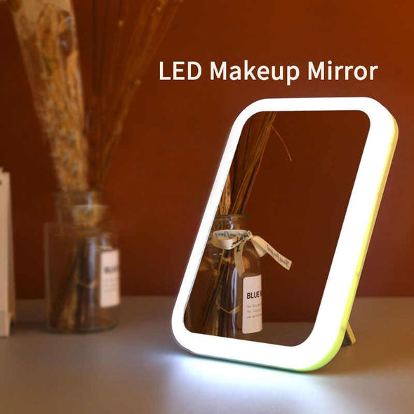 ESPEJO DE TOCADOR CON LUZ LED COSMETIC MIRROR LED TOUCH P6A53C1