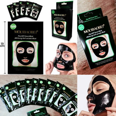 SET DE 10 MASCARILLAS MOLIBAOBEI IMPERFECCIONES P8A63C2
