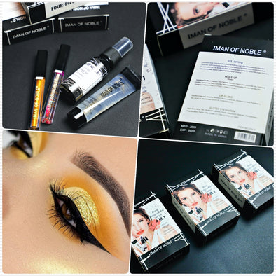 SET DE MAQUILLAJE 4 EN 1 IMAN OF NOBLE P4A28C5