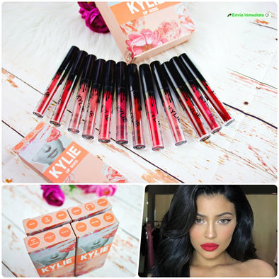 SET DE INDELEBLES MATTE KYLIE, INDELEBLES ACABADO MATTE P4A32C2