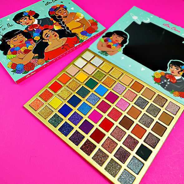 PALETA DE 63 TONOS LIME CRIME LOVE IN THE AIR SOMBRAS OJOS P1A1C4