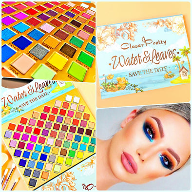 PALETA DE SOMBRAS PARA OJOS CLOSER PRETTY WATER P4A39C4