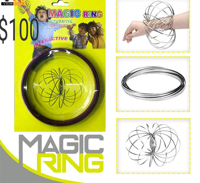 1 AROS MAGIC RING JUGUETE PULCERA, ARO DE JUGUETE P2A15C5