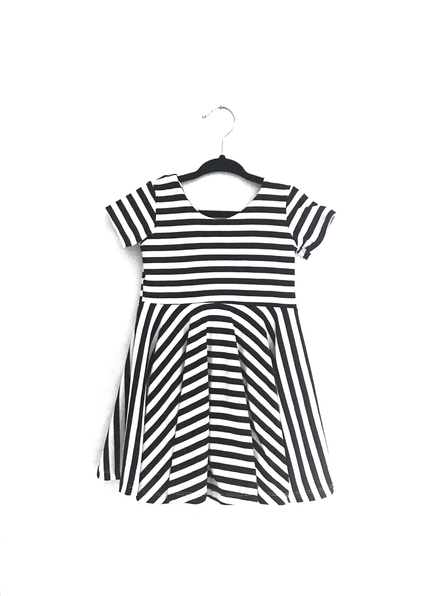 Solid Twirly Dress - YOU CHOOSE FABRIC
