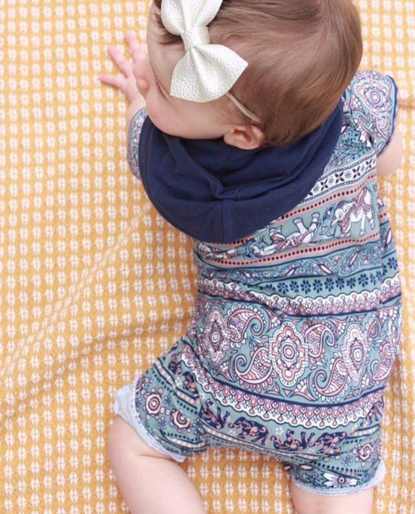Sawyer || Hooded Romper