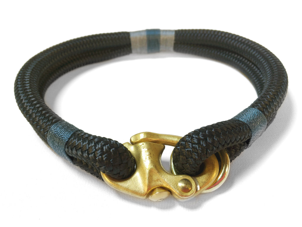 Classic Rope Dog Collar - Northern Lights