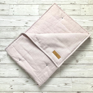 luxury pale pink dog blanket eiderdown duvet for dogs