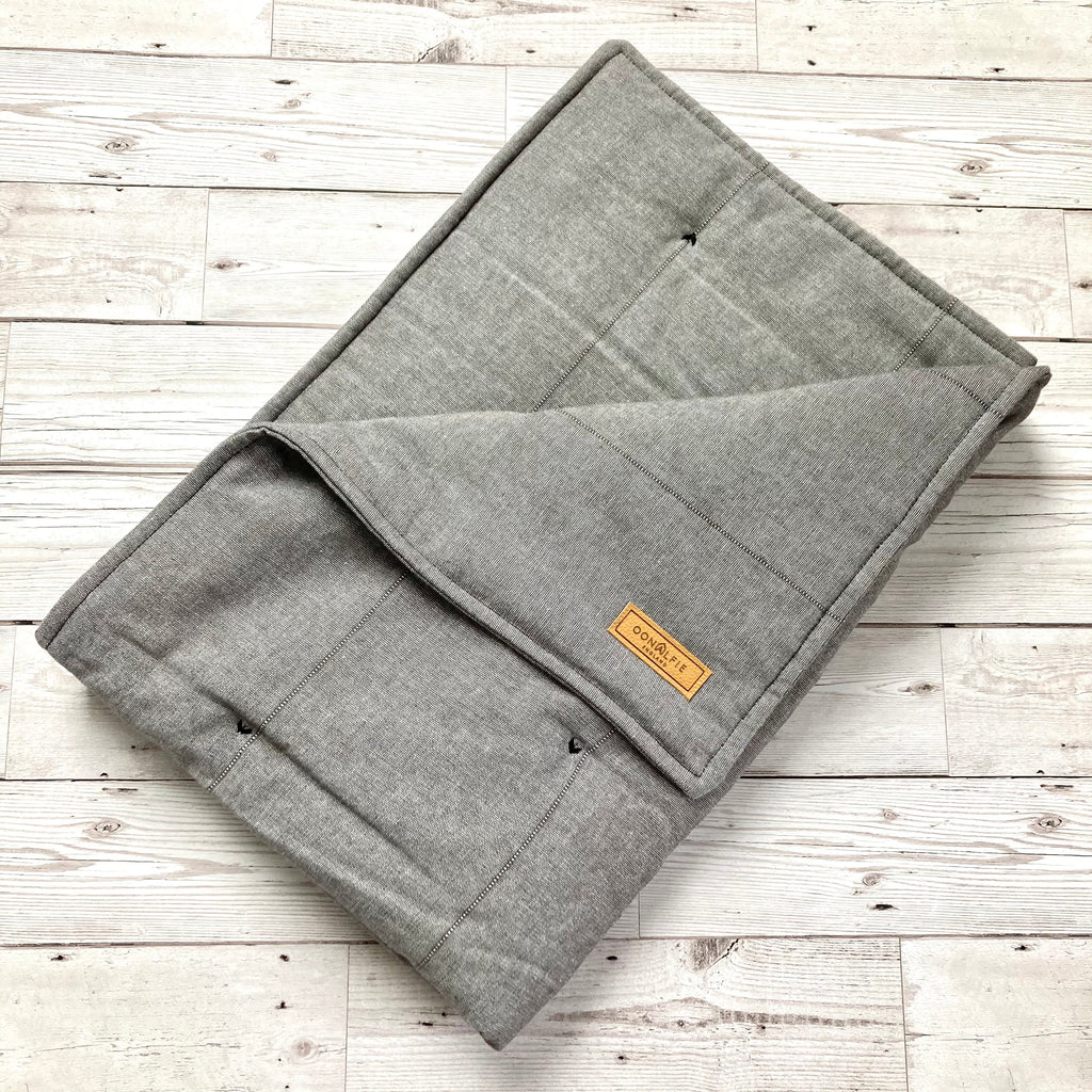 Luxury Dog Eiderdown - Grey Marl