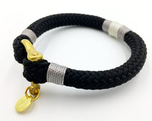 Men's Rope Bracelet - Silver Birch