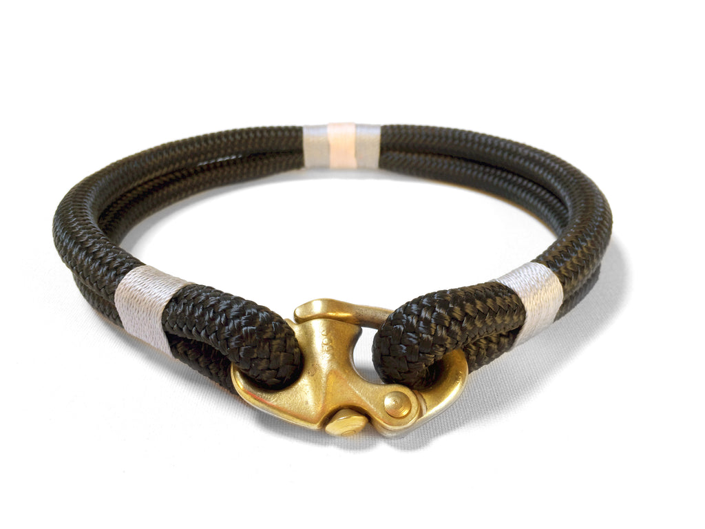 Classic Rope Dog Collar - Seychelles