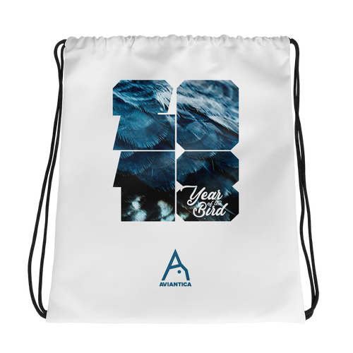 Aviantica 2018 Year of the Bird Drawstring Bag