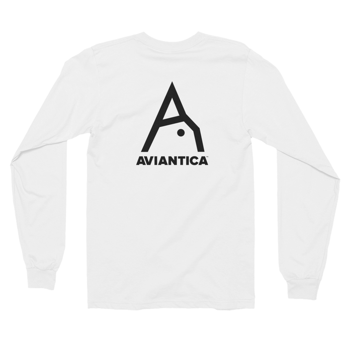 Aviantica Long Sleeve T-Shirt Back Design