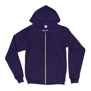 Aviantica Zip-Up Hoodie Back Design