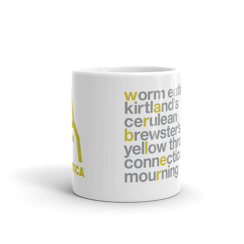 Rare Warblers Mug (2 sizes)