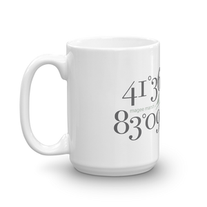 Magee Marsh Coordinates Mug (2 sizes)
