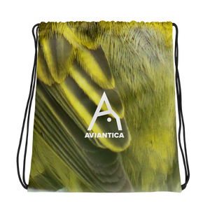 Aviantica Warbler Logo Drawstring Bag