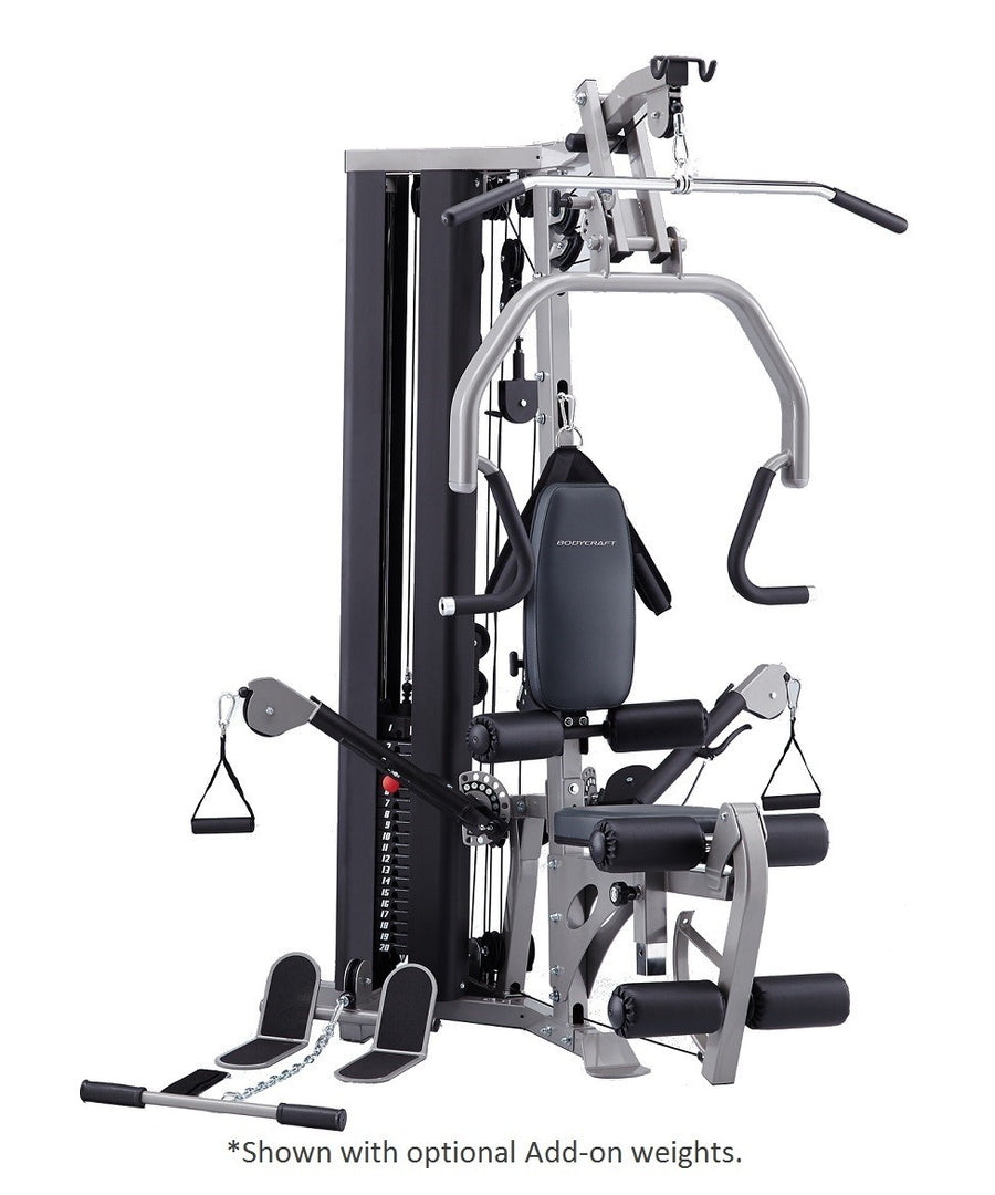 Bodycraft glx home gym low country fitness equipment