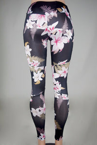 Floral Printed Top And Legging Pants 2 Pieces Set - dealod