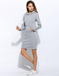 Sweatshirt Long Sleeve V-Neck High Waist - dealod