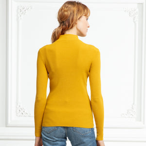 Turtleneck Pullovers Sweaters - dealod