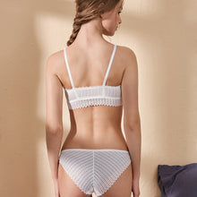 Backless Bra And Panty Set Lace Front Closure Seamless - dealod