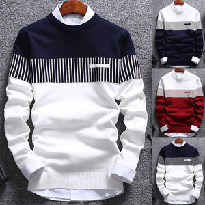 Long Sleeve Knitted Sweater - dealod