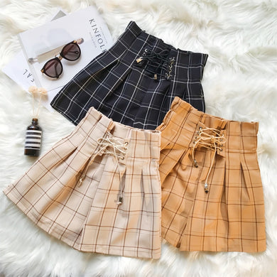 Checkered shorts - dealod