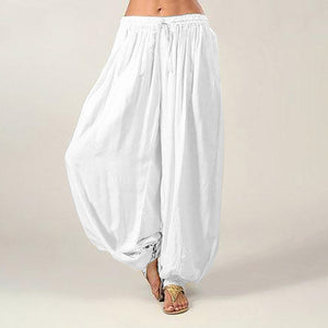 High Waist Harem Pants Long - dealod