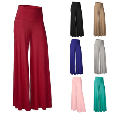 Loose Trousers High Waist Wide Leg Pants - dealod