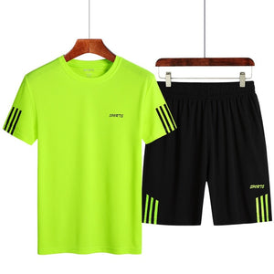 T-shirt Shorts Sets - dealod